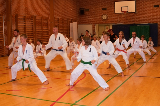 Shihan Rex træning Sep 2010