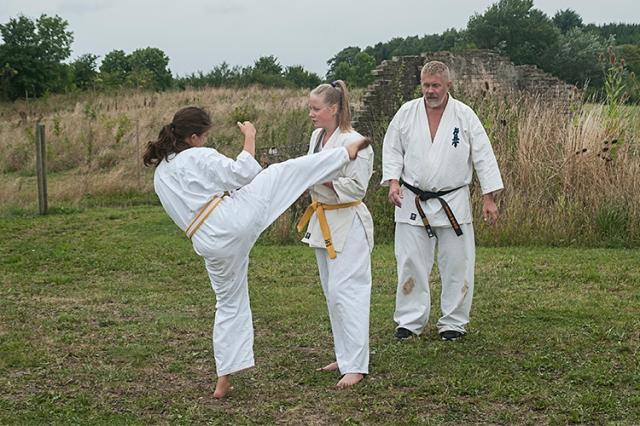 Kumite træning Aug2014